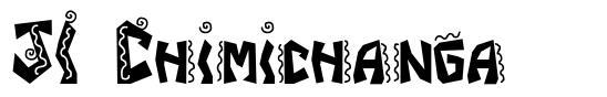 JI Chimichanga písmo