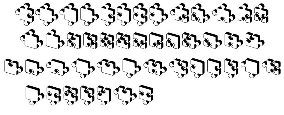 Jigsaw Puzzles 3D písmo