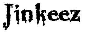Jinkeez font