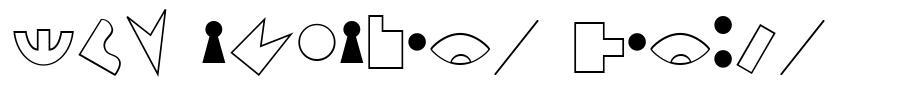 JMH Alfabeto Petiso font
