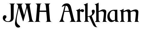 JMH Arkham schriftart