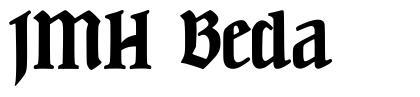 JMH Beda шрифт