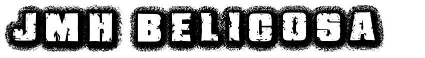 JMH Belicosa font