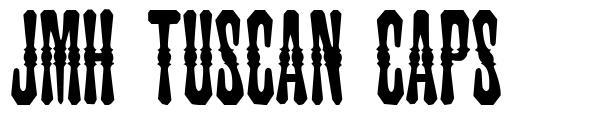 JMH Tuscan CAPS font