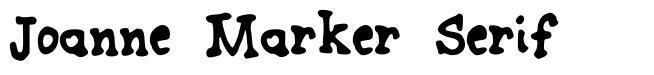 Joanne Marker Serif