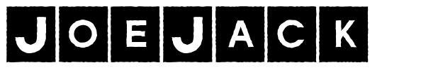 JoeJack schriftart
