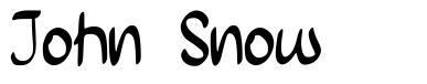 John Snow font