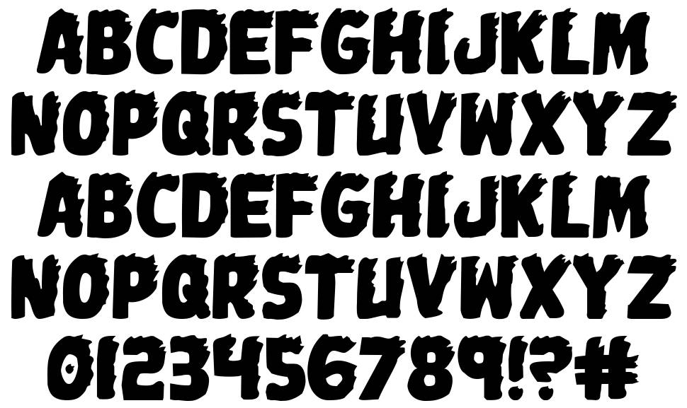 Johnny Torch font