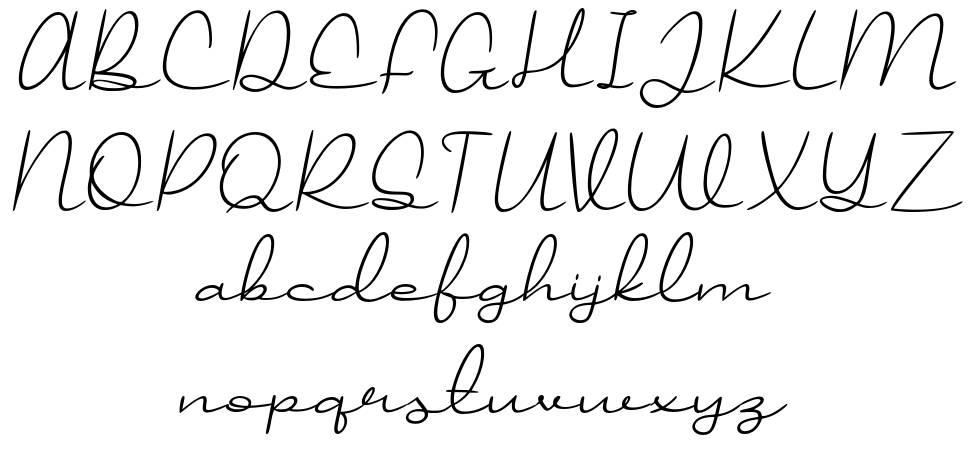Jollycandy font