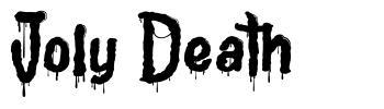 Joly Death písmo