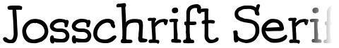 Josschrift Serif