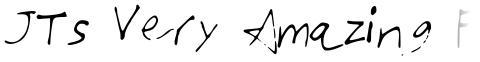 JTs Very Amazing Font