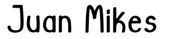 Juan Mikes font