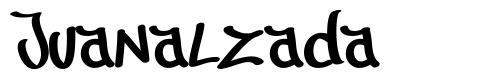 Juanalzada font