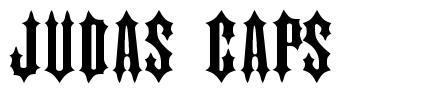 Judas Caps шрифт
