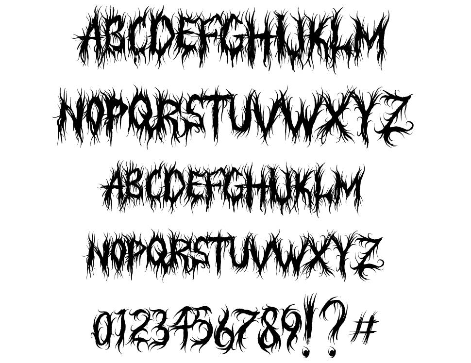 Judgement Territory font
