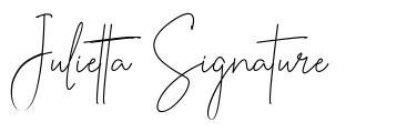 Julietta Signature