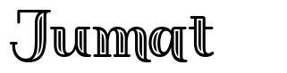 Jumat font
