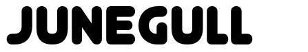Junegull шрифт