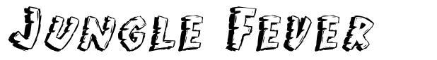 Jungle Fever font