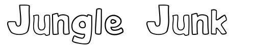 Jungle Junk font