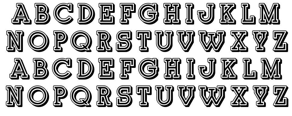 Junk font