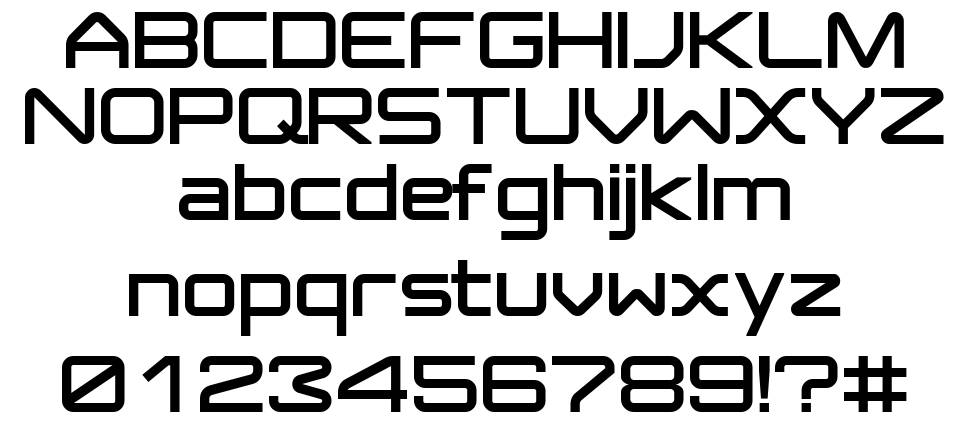 Jupiter Normal font