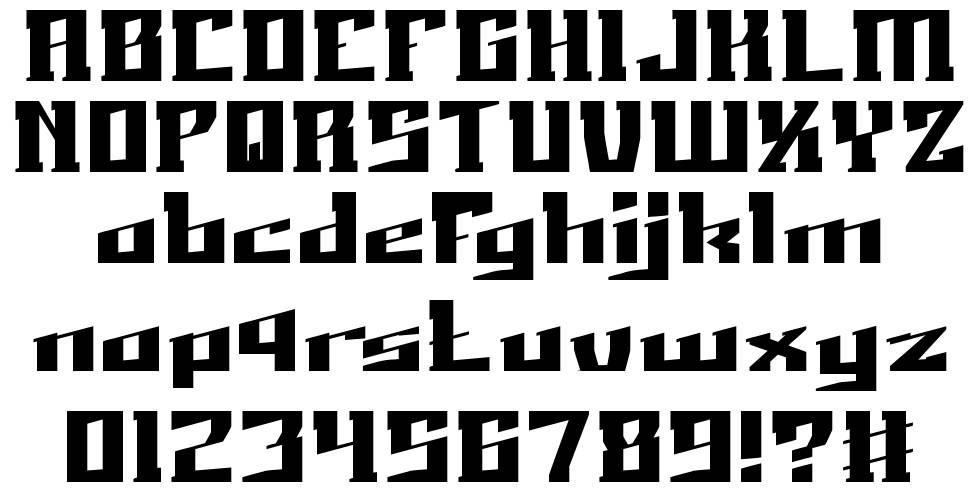 Just Do Right font