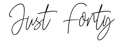 Just Fonty font