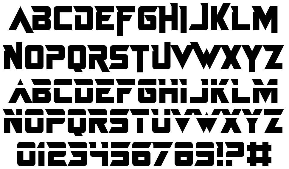 Just In The Firestorm font