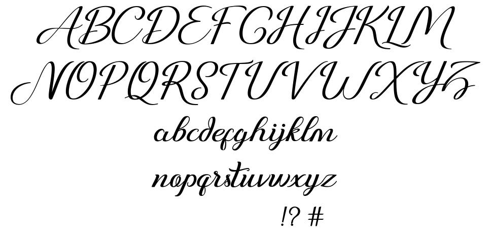 Just Sweet font