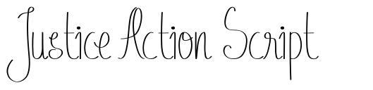Justice Action Script