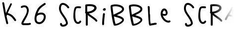 K26 Scribble Scrawl