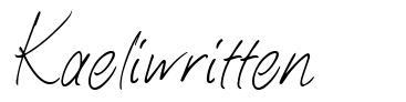Kaeliwritten