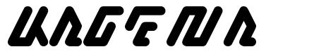 Kagena font