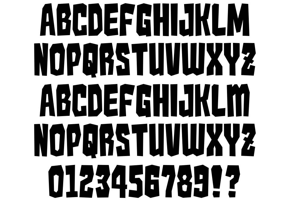 the gallery for gt monster fonts