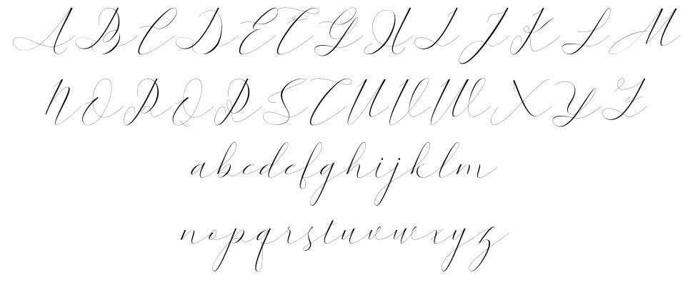 Kaitlyne font