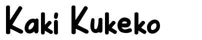 Kaki Kukeko font