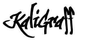 KaliGraff font