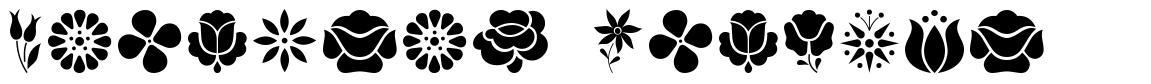 Kalocsai Flowers fonte