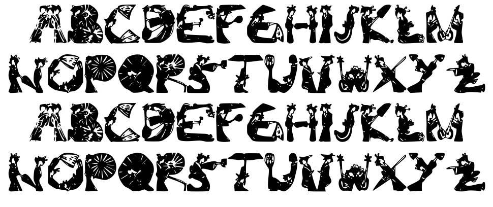 Kami-Geisha font