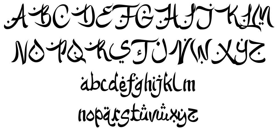 Kareem Mubarak font