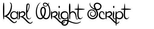 Karl Wright Script