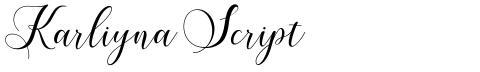Karliyna Script