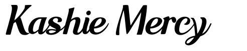 Kashie Mercy font