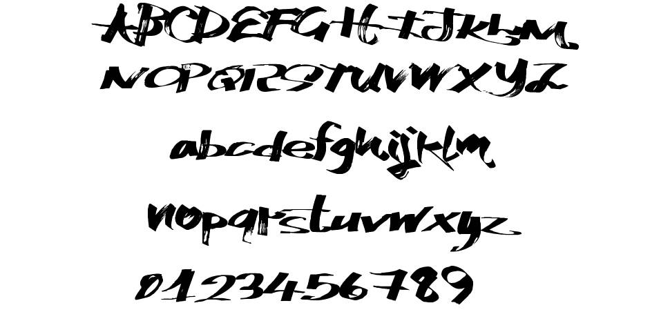 Katchy Markers font