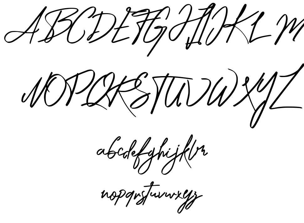 Katika font