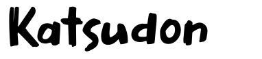 Katsudon font