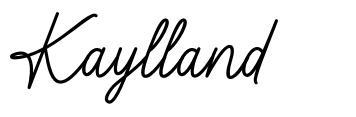 Kaylland