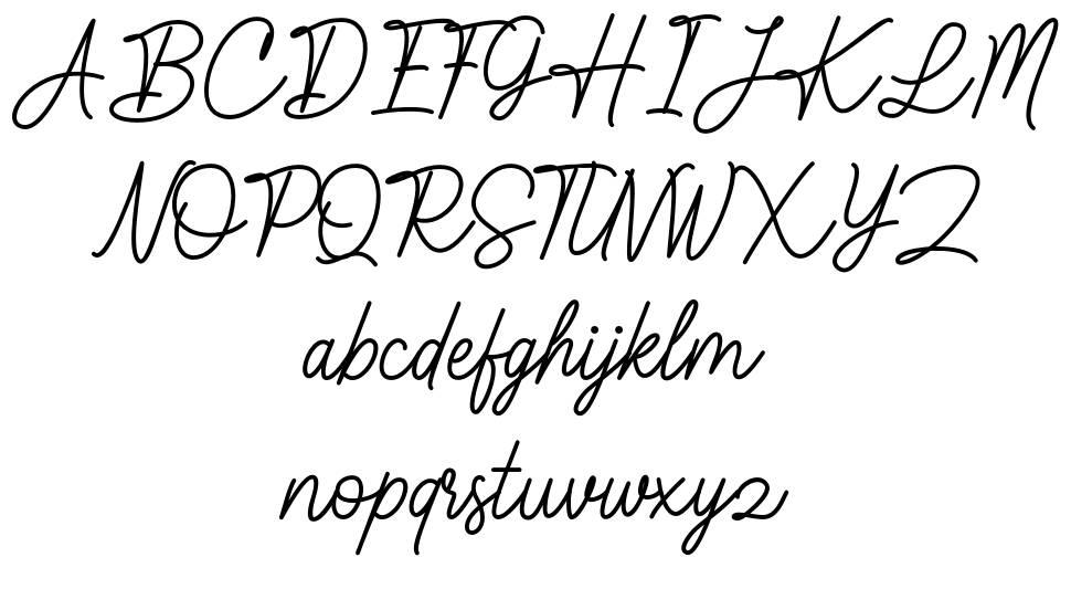 Kaylland font